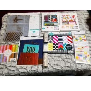 NWT PROJECT LIFE /HEIDI SWAPP Scrapbook Bundle